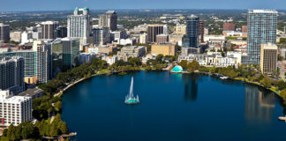 orlando florida the city lake