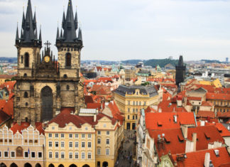 Prague old town beauty