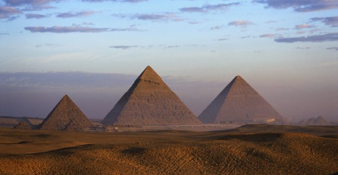 Egyptian Pyramids the historical place