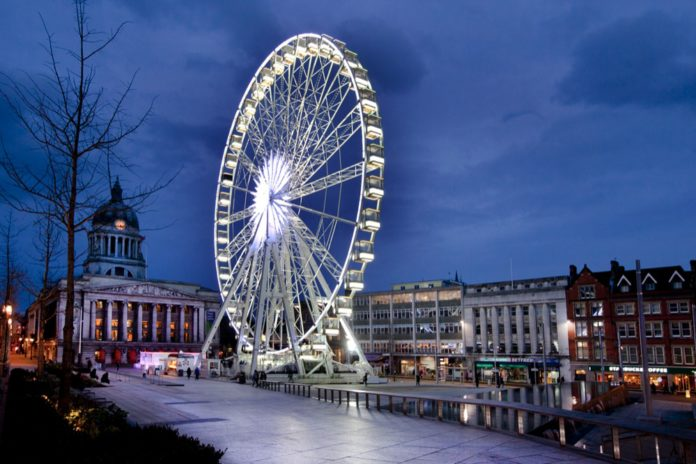 The wheel of nottingham