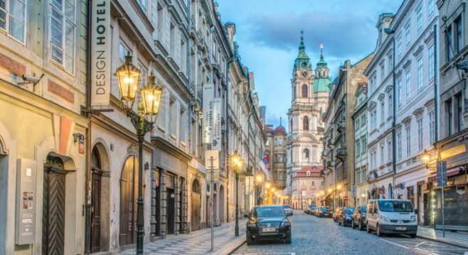 Prague city most popular destination with attractive night for Unique hotel prague