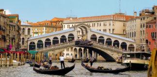 Grand canal italy bridge