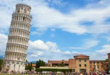 Leaning tower of pisa world best heritage