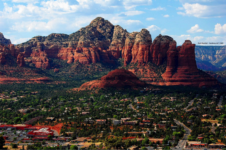 Sedona arizona thunder mountain