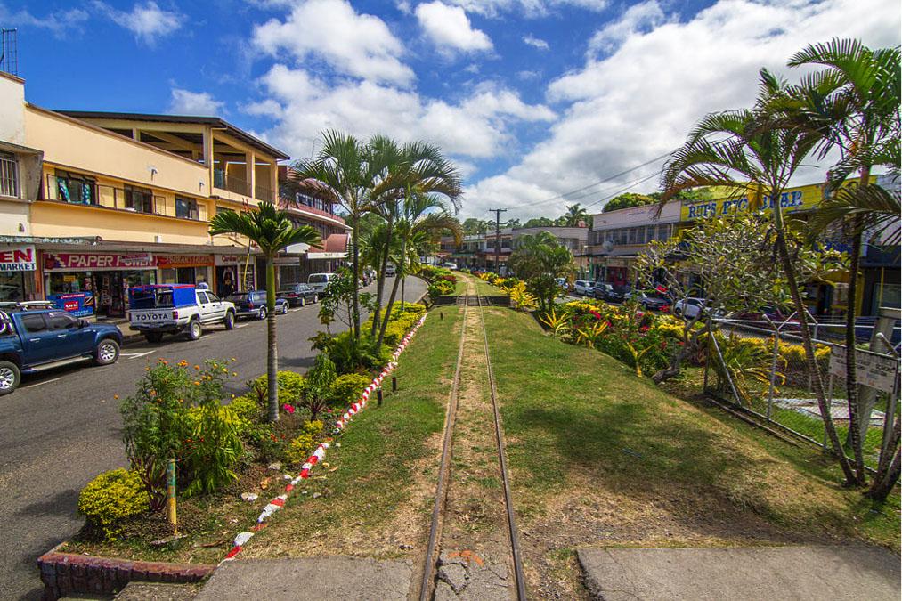 Main street in suva fiji
