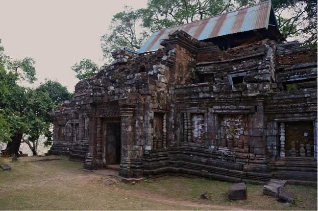 Vat phou temples laos