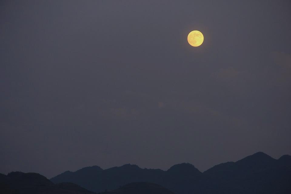 Mid-autumn festival moon guizhou