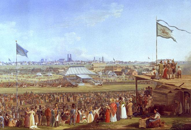 Oktoberfest in the 1800s