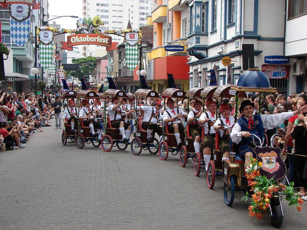 Oktoberfest parade