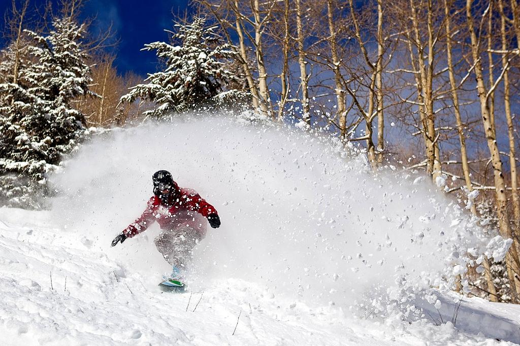 Colorado Winter - Aspen Snowboarding