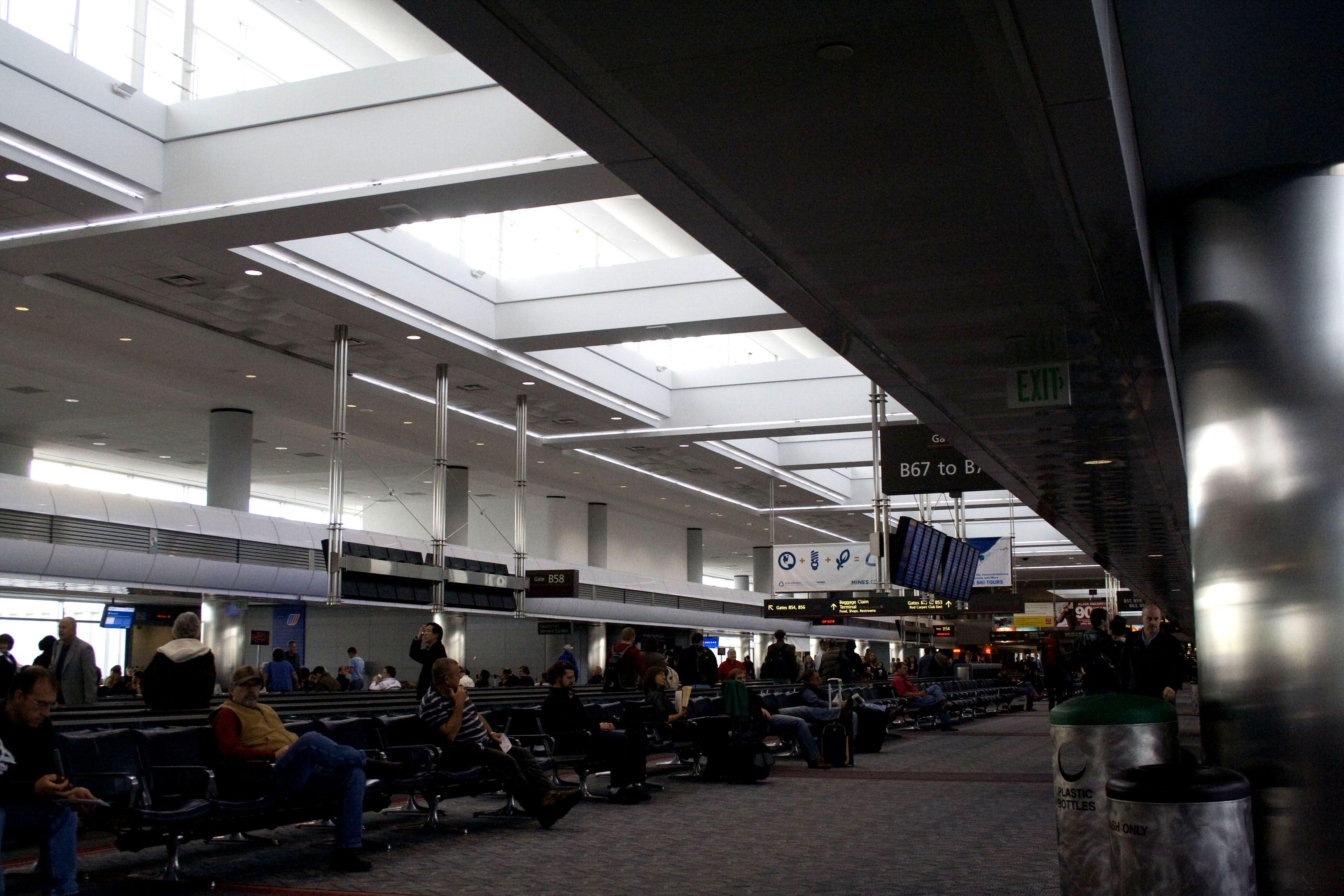 Colorado Winter - Denver Airport