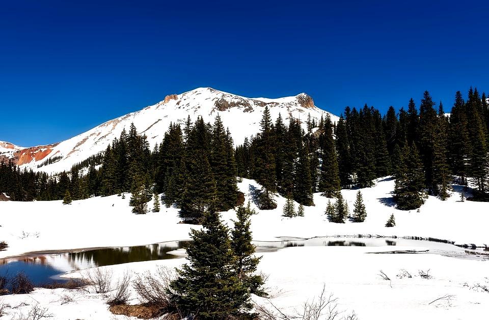 Colorado Winter-Mountains