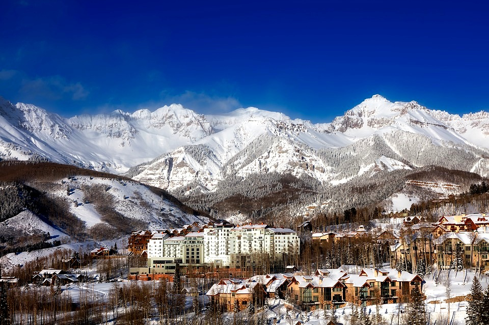 Colorado Winter-Telluride-Ski-Resort