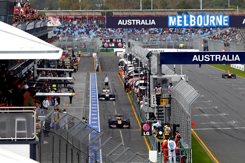 Melbourne australia grand prix