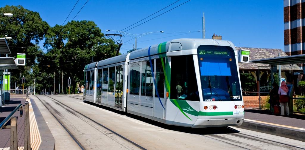 Melbourne class tram