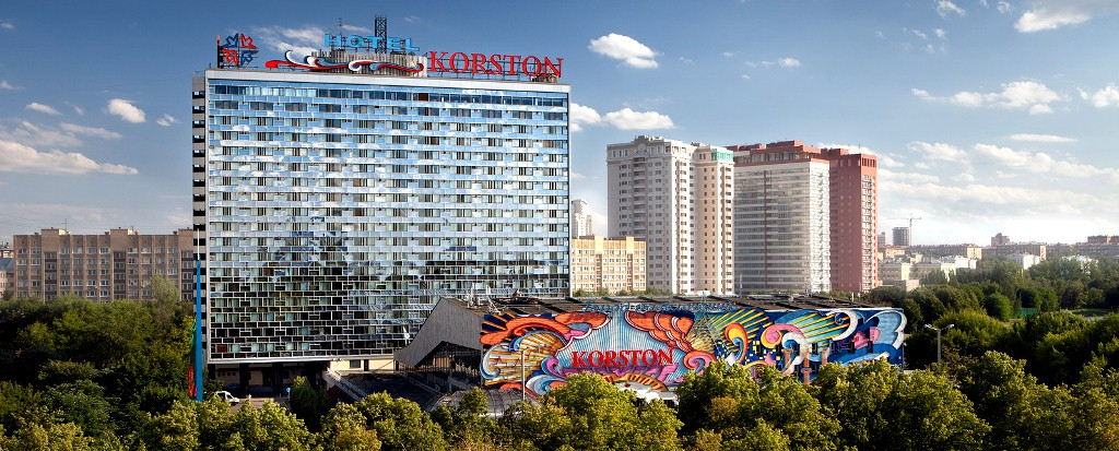Moscow world cup hotel korston