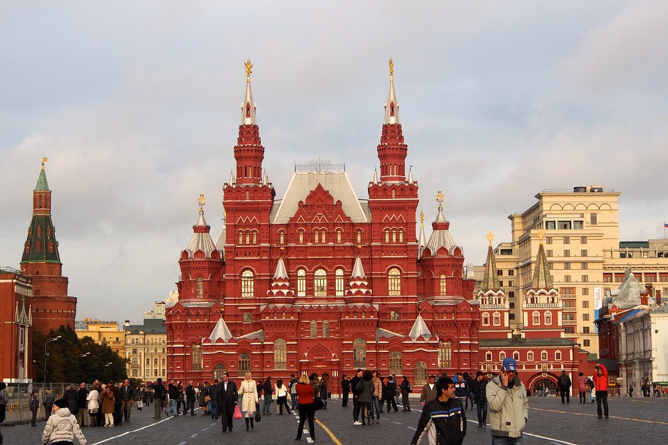 Moscow world cup red square