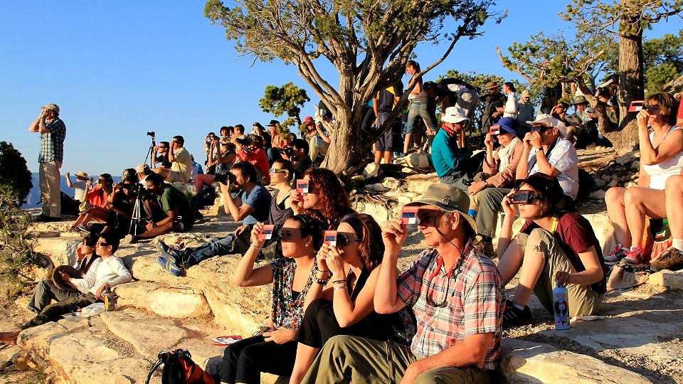 Solar Eclipse Viewing party at national park