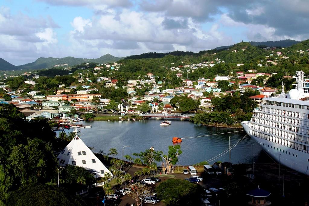 Winter Caribbean Cruise - St Lucia Port