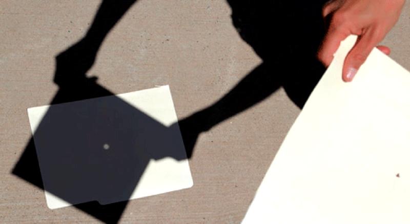 Solar Eclipse Pinhole camera