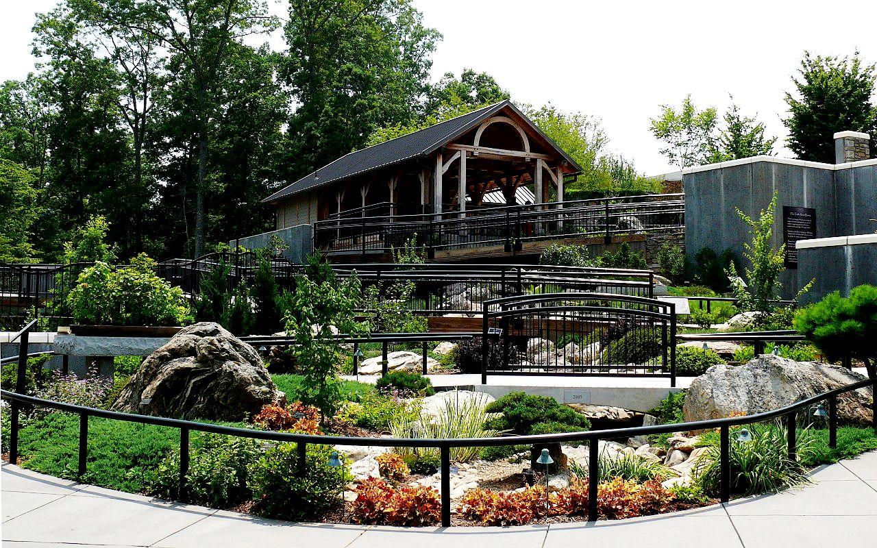Asheville arboretum