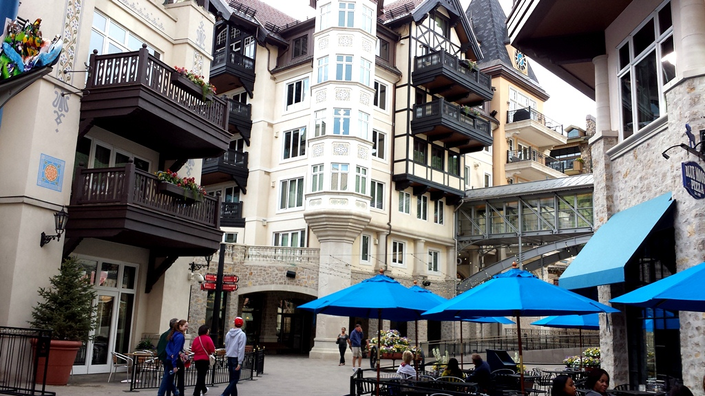 Vail, Colorado - Buildings in Town