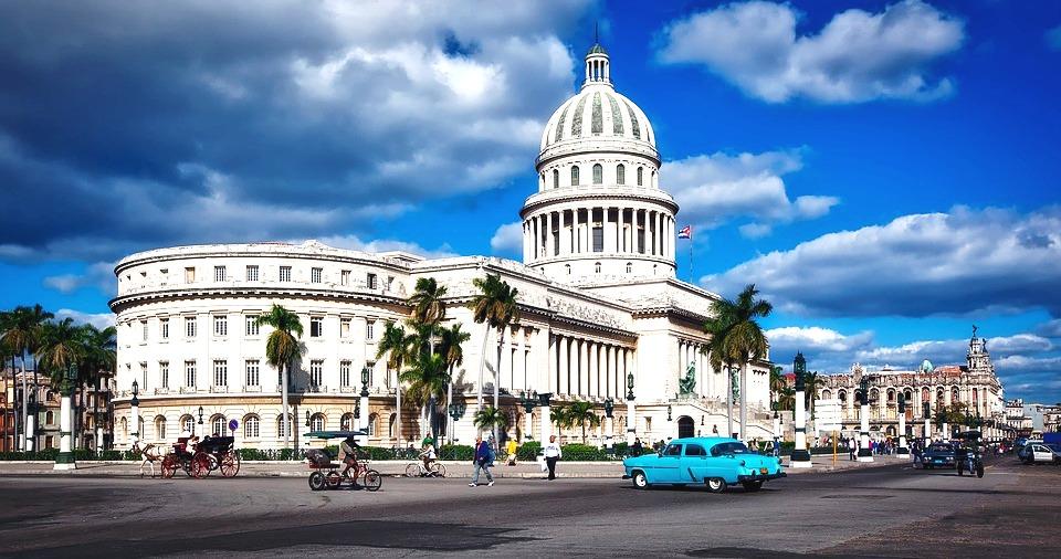 Cuba edificio del capitolio