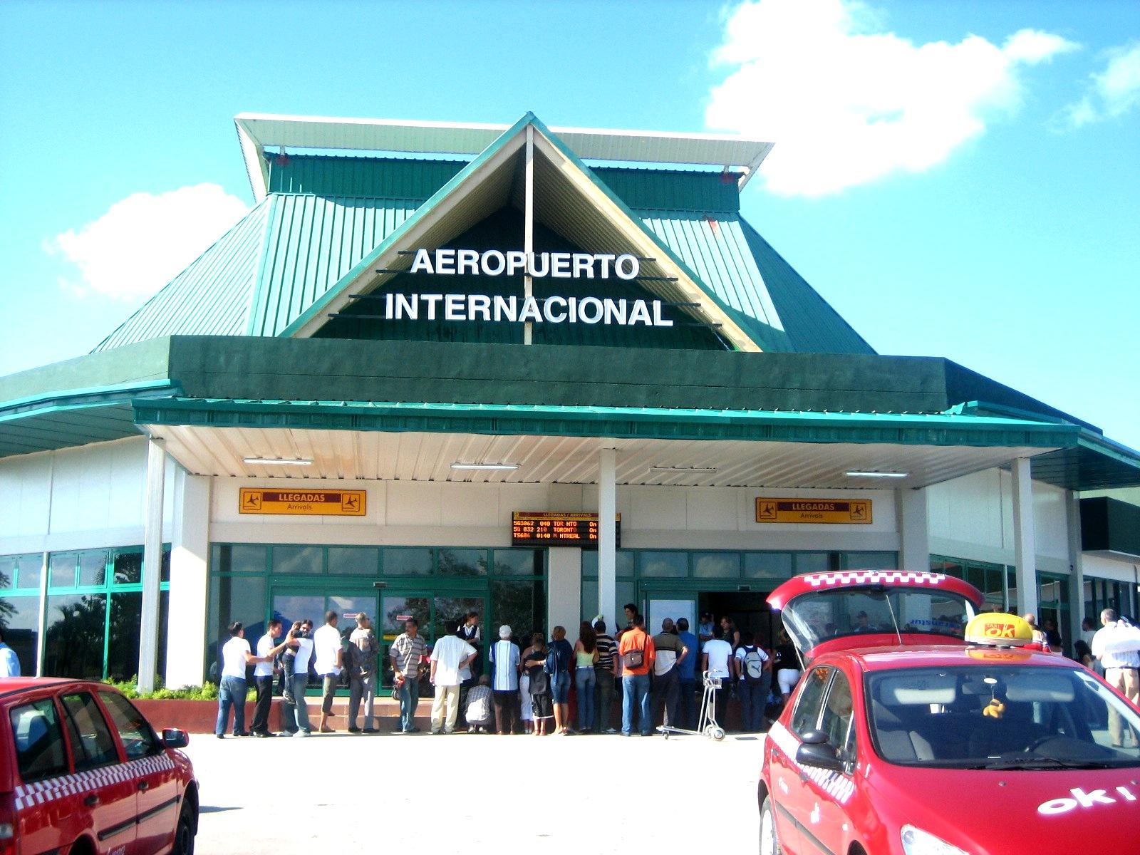 Cuba holguin airport