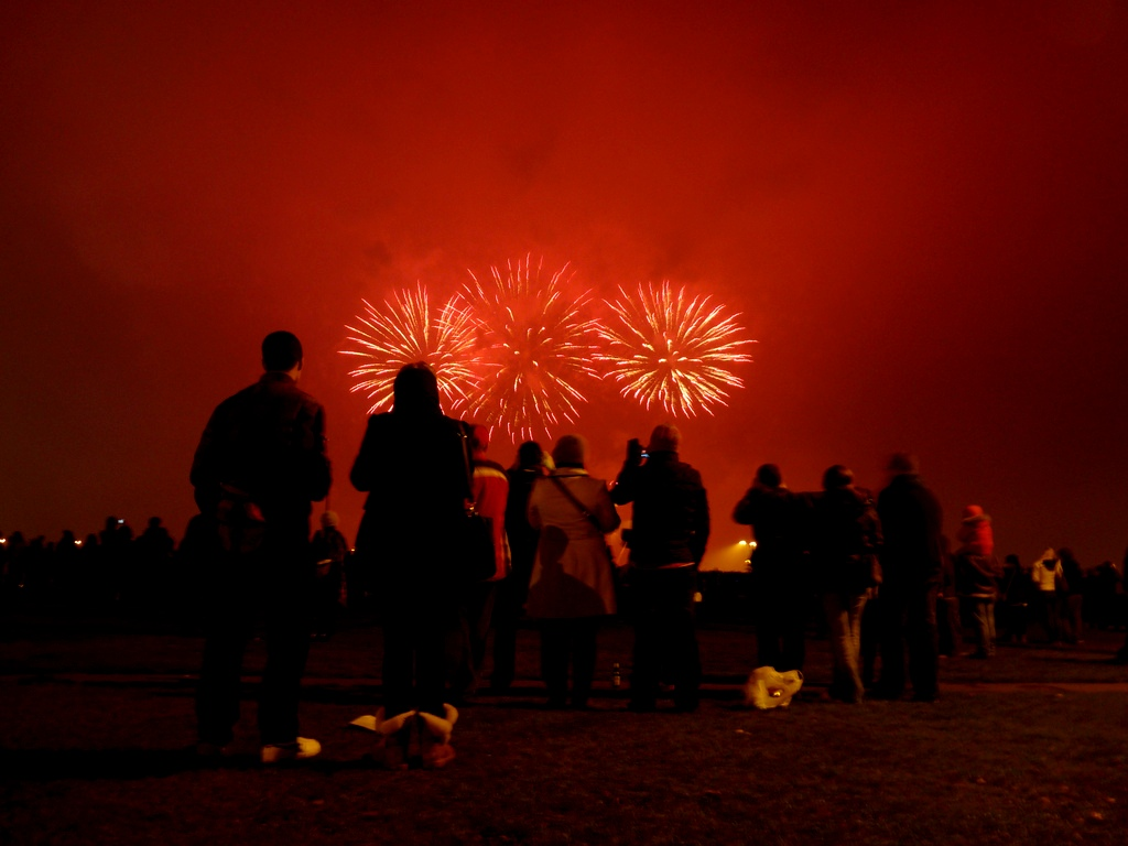 Guy fawkes fireworks blackheath