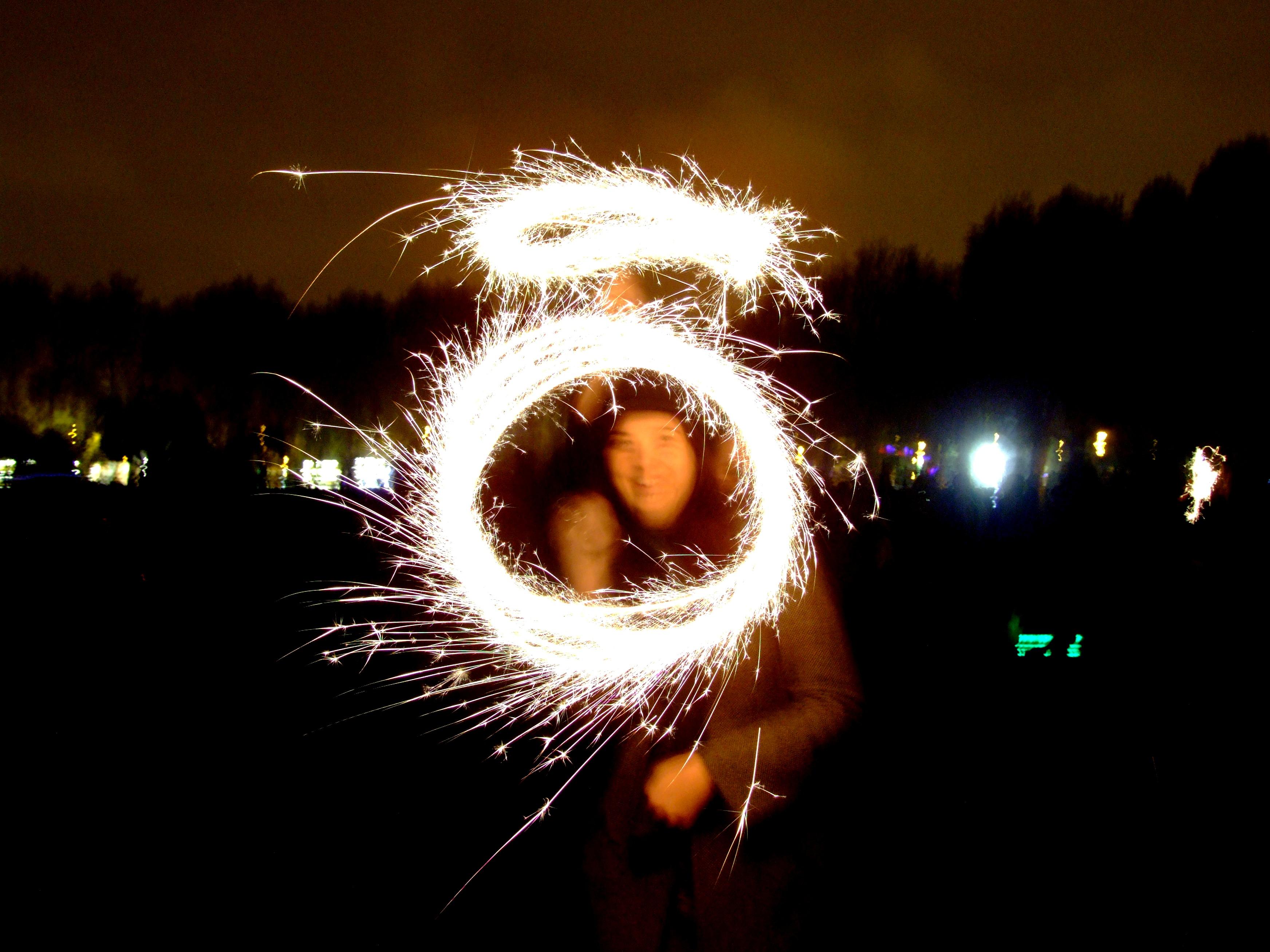 Guy fawkes local enjoying fireworks