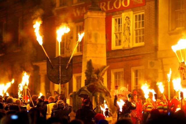 Guy fawkes parade