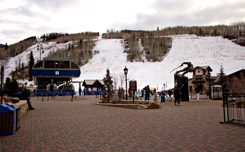 Vail, Colorado - Mountain Plaza