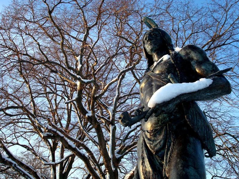 Plymouth Massasoit Statue