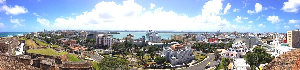 San juan panoramic view