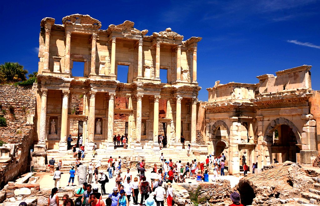 Turkey - Library of Celsus