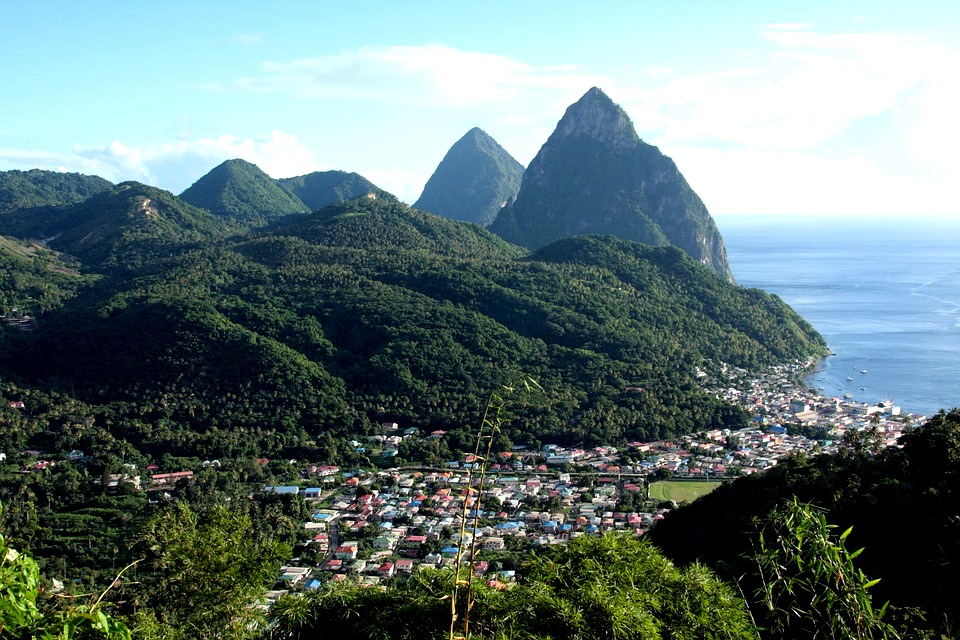 St lucia view