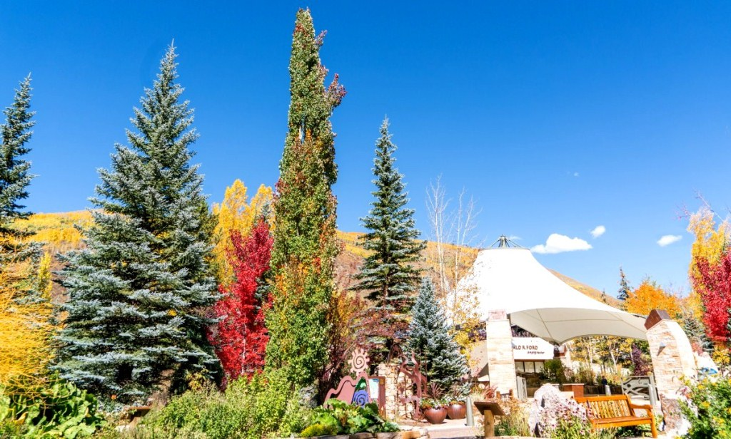 Vail, Colorado - Foliage in Gerald Ford Center