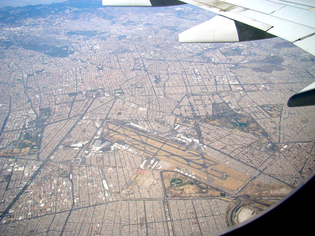 Mexico City New International Airport - Aerial View Mexico City Airport