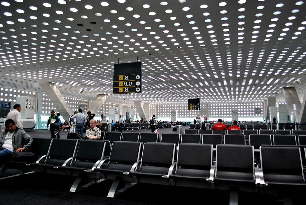 Mexico City New International Airport - Terminal 2 Exit Area