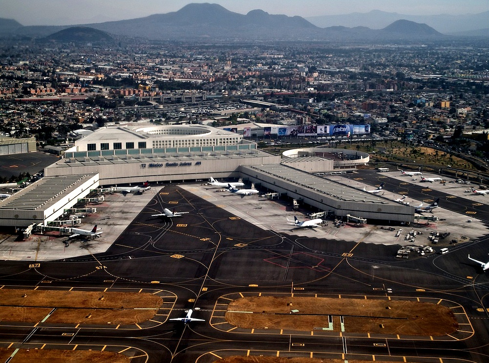 Mexico City New International Airport - Benito Juarez Aerial View