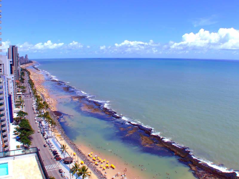 Boa viagem beach brazil
