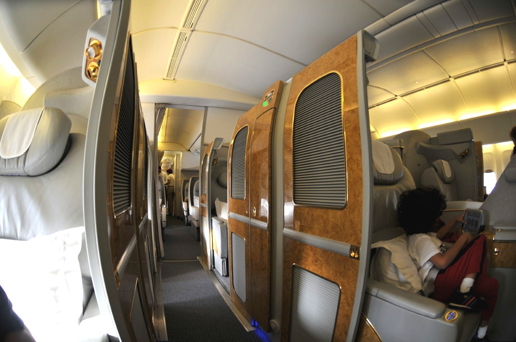 Emirates First Class - Cabins