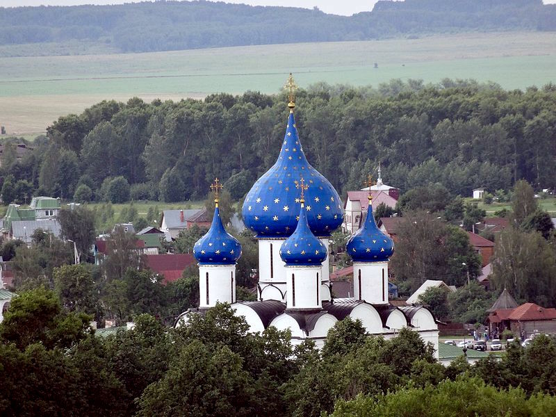 Domes of nativity of the virgin cathedral suzdal russia tourist visa