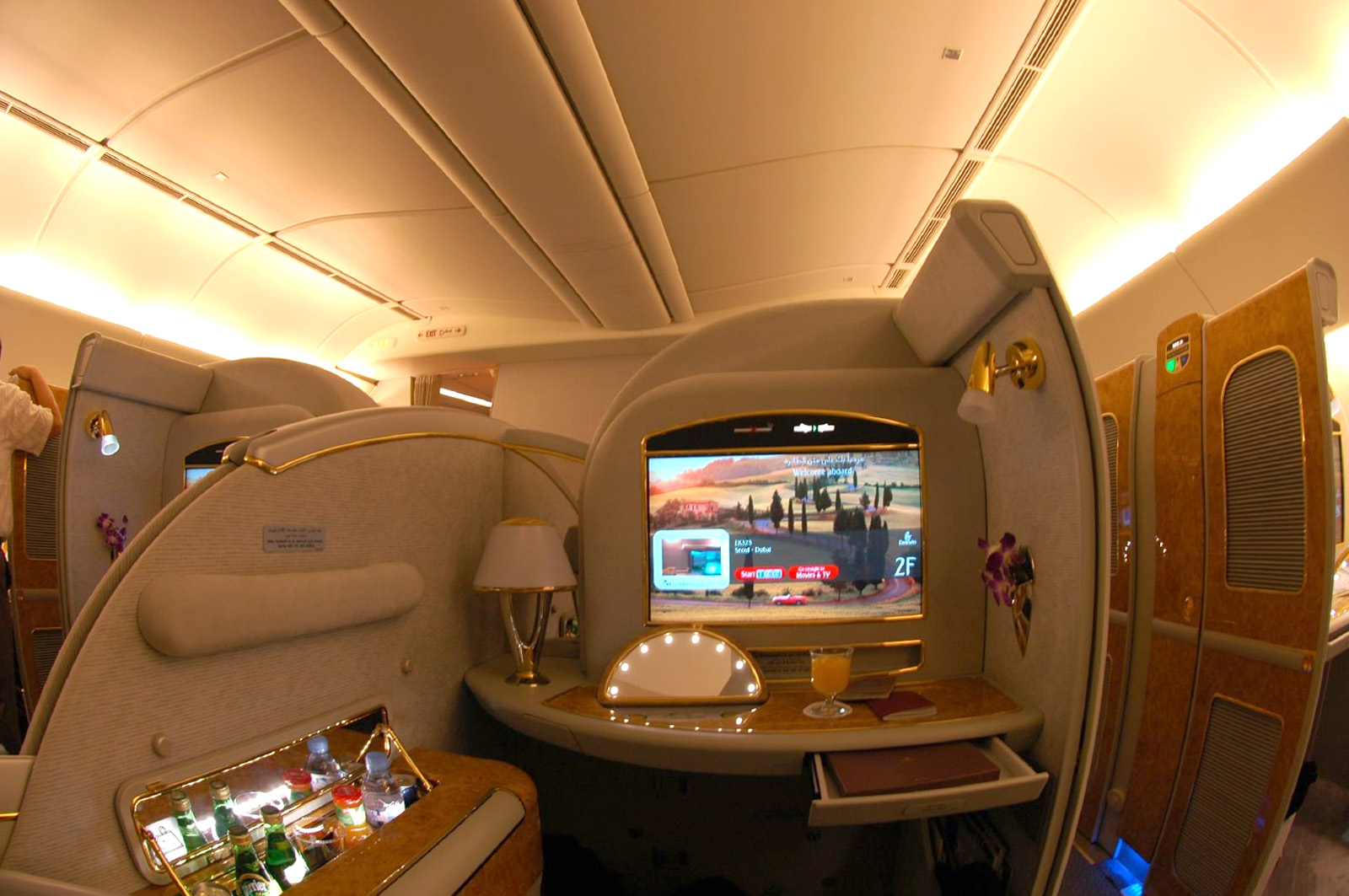 Emirates First Class - Suite 777
