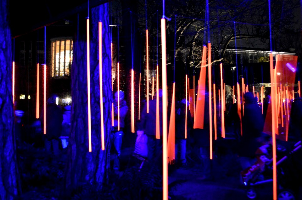 Amsterdam Light Festival - Art installation