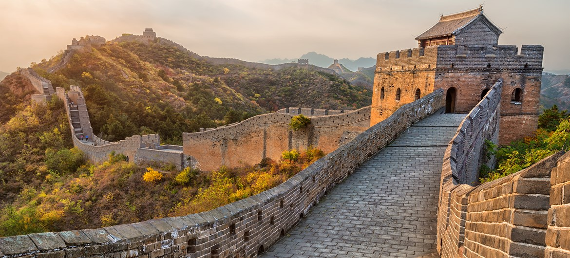 Great wall of china fact