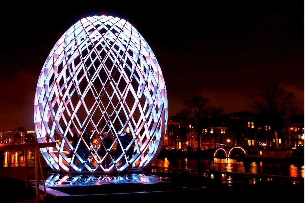 Amsterdam Light Festival - Interactive Installation