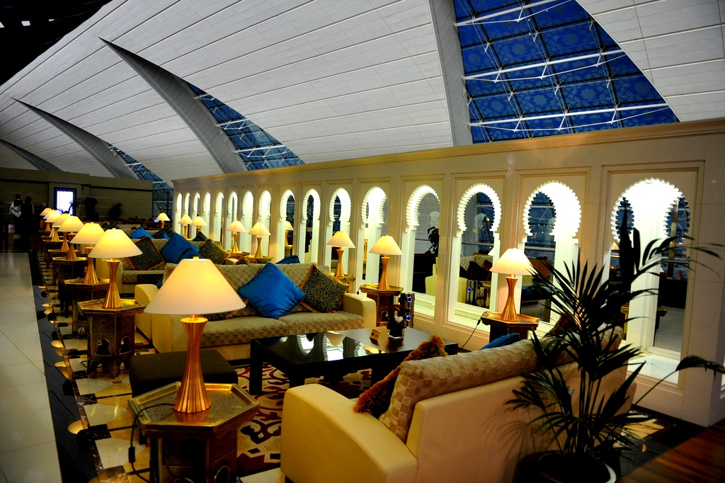 Emirates First Class - Lobby