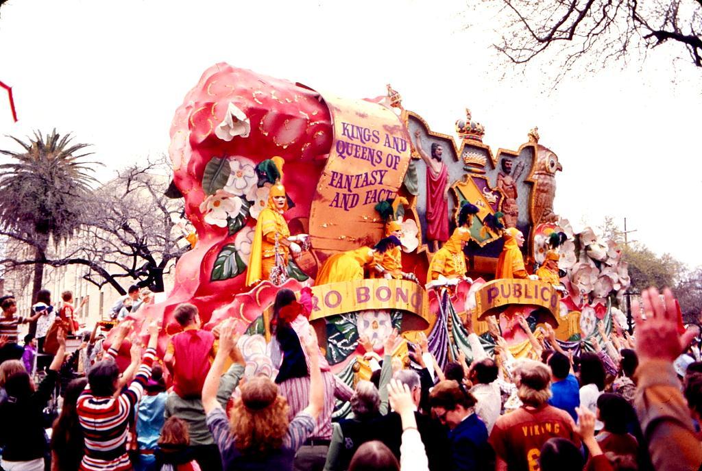Mardi Gras - 'tit Rex parade