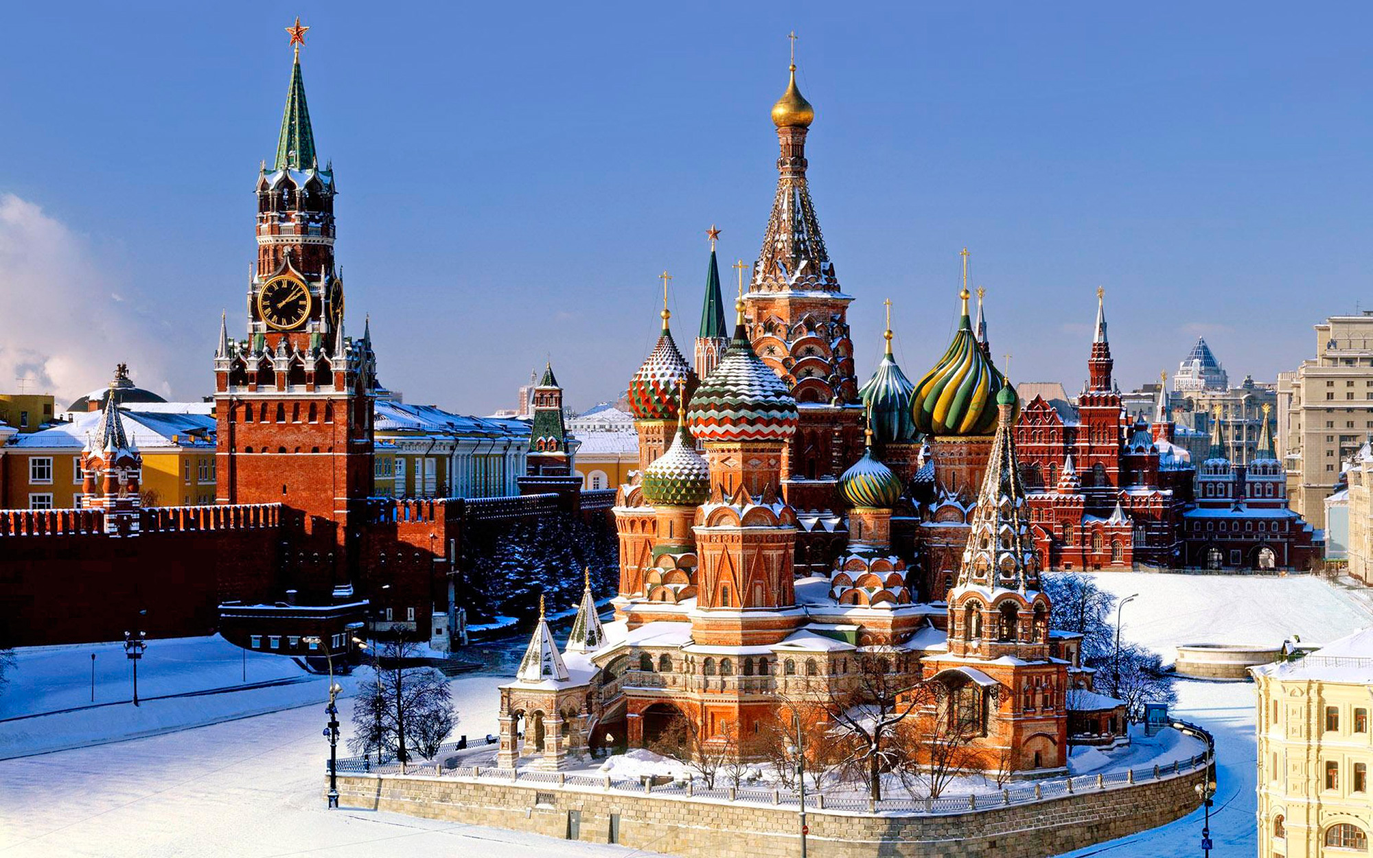 Saint Basil's Cathedral Russia Tourist Visa